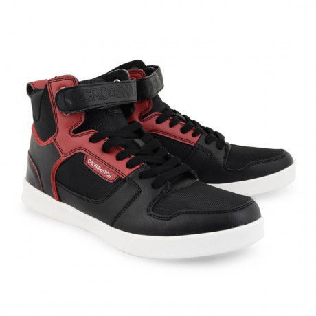 Crosshatch Gacrux High Top Trainers Black Image