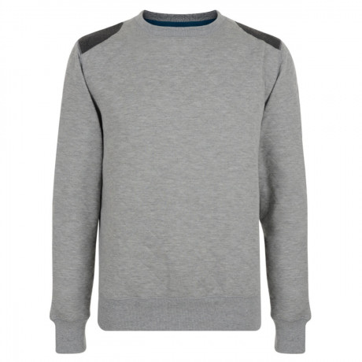 Conspiracy Sweatshirt Top Light Grey Image
