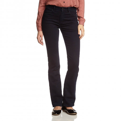 Wrangler Tina Bootcut Stretch Jeans Moonlight Blue Image