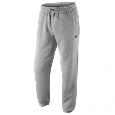 Nike Fleece Tracksuit Bottom Grey Pants Image