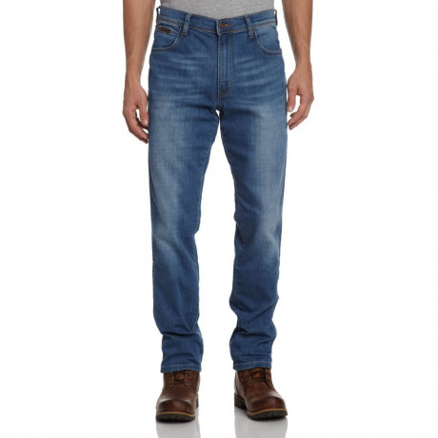 Wrangler Texas Stretch Denim Jeans Aint Broke Blue Image