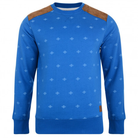 Smith & Jones Crew Sweatshirt Le Mans Blue Image