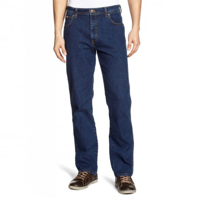 Wrangler Texas Stretch Jeans Darktone Image