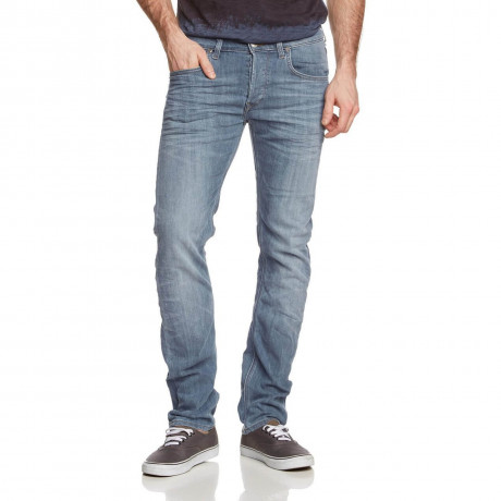 Lee Daren Regular Slim Water Stone Blue Denim Jeans Image
