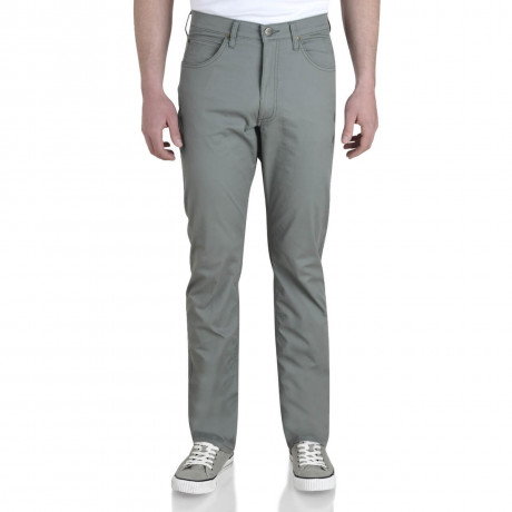 Lee Brooklyn Light Cotton Jeans Stretch Fabric Agave Green Image