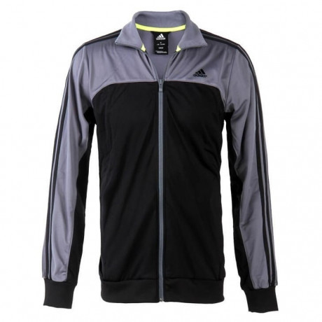 adidas Essentials Wind Cheater Track Top Black Image