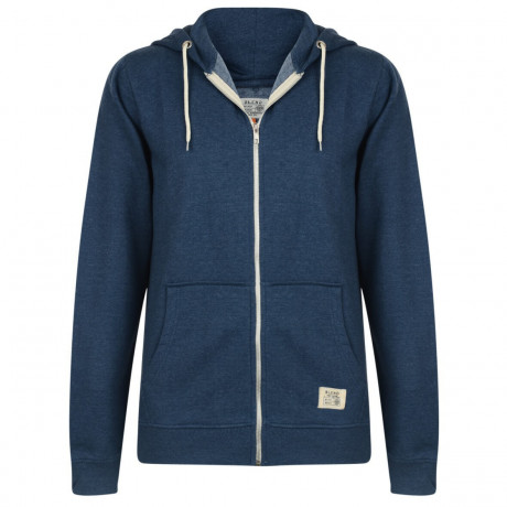 Blend Zip Up Hoodie Blue Image