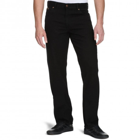 Wrangler Texas Denim Jeans Reactive Black Image
