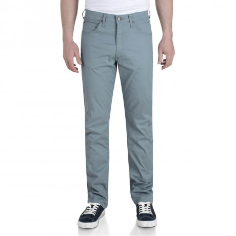 Lee Brooklyn Light Cotton Jeans Stretch Fabric Trooper Green Image