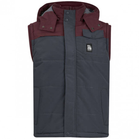 Crosshatch Padded Bodywarmer Gilet Blue Image