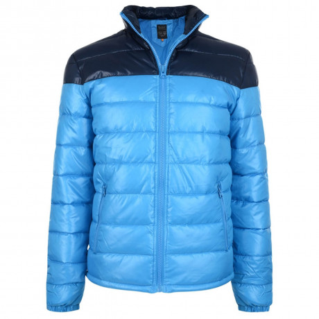 Blend Shiny Puffer Jacket Sky Blue Image