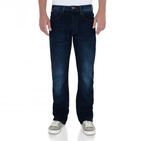 Lee Cooper Carter Bootcut Jeans Faded Dark Wash Blue Image