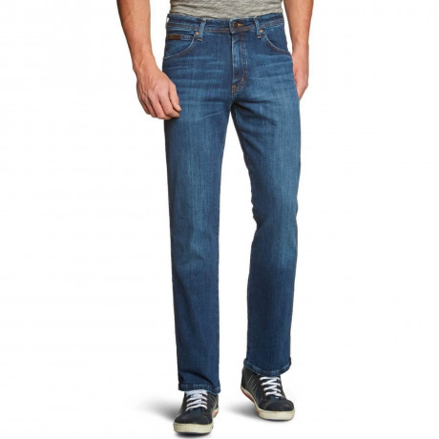 Wrangler Arizona Stretch Denim Jeans Broken Arrow Image