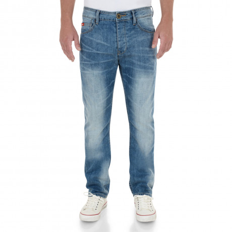 Lee Cooper Straight Fit Harry Jeans Faded Stone Wash Blue Image
