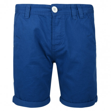 Soul Star Casual Summer Chino Shorts Royal Blue Image