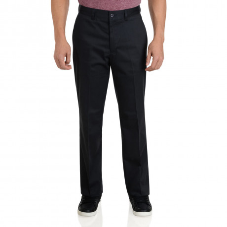 Farah Casual Chino Trousers Navy Blue Image