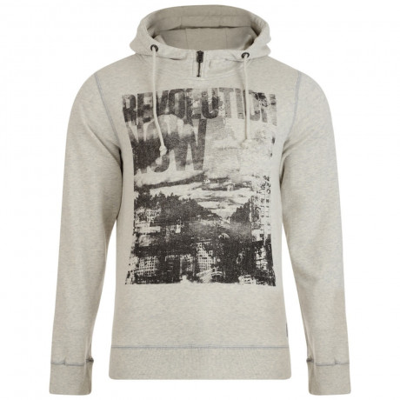 Garcia Jeans Vintage Overhead Sweatshirt Light Grey Image