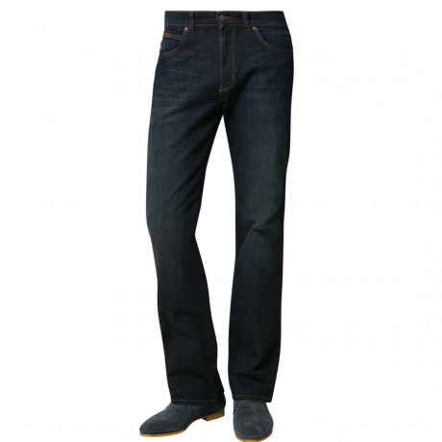 Wrangler Pittsboro Bootcut Jeans Grey to Green Image