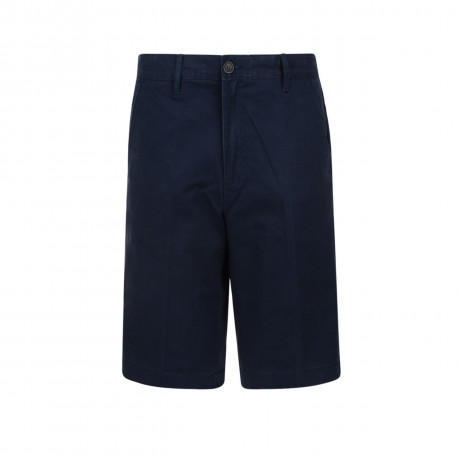 Farah Casual Tailored Chino Shorts Navy Blue Image