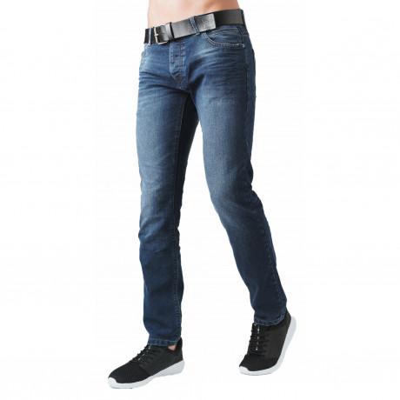 Crosshatch Straight Fit Wayne Jeans Faded Mid Wash   Jean Scene