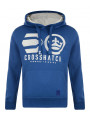 Crosshatch Nucleus Hoodie Nautical Blue