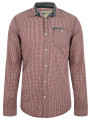 Garcia Jeans Long Sleeve Check Shirt Radish Red