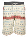 Soul Star Casual Printed Shorts Beige