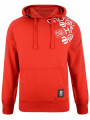 Crosshatch Millhouse Logo Hoodie Risk Red