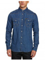 Wrangler Western Denim Shirt Regular Fit Indigo