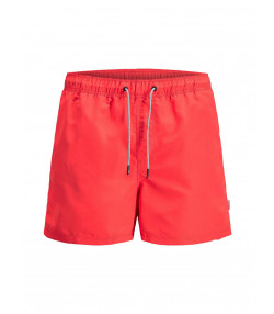 Jack & Jones Mens Mens Aruba Swim Shorts Fiery Red | Jean Scene