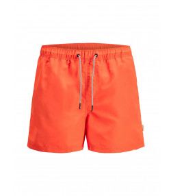 Jack & Jones Mens Mens Aruba Swim Shorts Flame | Jean Scene