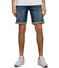 Jack & Jones Men's Rick Denim Jean Shorts Blue | Jean Scene