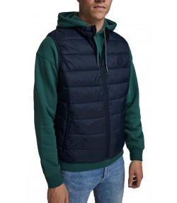 Jack & Jones Men's Casual Gilet Bodywarmer Navy Blazer | Jean Scene