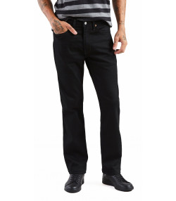 Levis 514 Denim Jeans Dark Black Nightshine X Black | Jean Scene