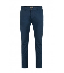 Lee Cooper Coburn Slim Fit Cotton Chinos Navy | Jean Scene
