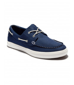 Timberland Mens Union Wharf Canvas Slip On Shoes Shoes Ox Navy | Jean Scene