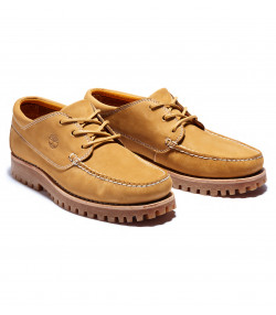 Timberland Mens Jackson Landing Leather Slip On Boots Boots Mocha Wheat | Jean Scene