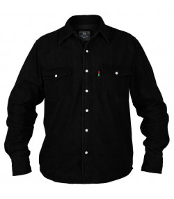 Duke Big Kingsize Black Denim Shirt Image