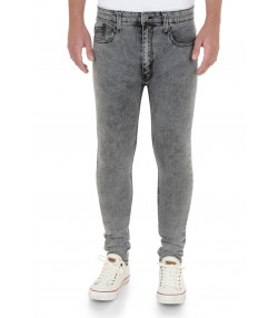 Soul Star Slim Tapered Skinny Fit Grey DenimJeans Image