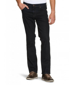 Wrangler Texas Stretch Denim Jeans Blue Black Image