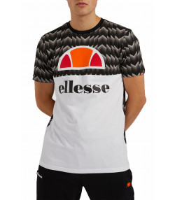 Ellesse Mens Logo T-Shirt Short Sleeve Black | Jean Scene
