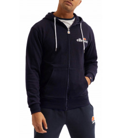 Ellesse Men's Briero FZ Zip Hoodie Navy | Jean Scene