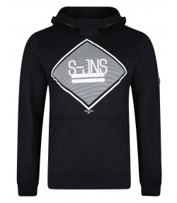 Smith & Jones Men's Cinture Hoodie Black | Jean Scene