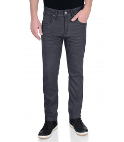 Crosshatch Menzo Slim Stretch Denim Jeans Grey | Jean Scene