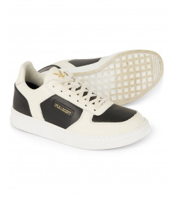 Lyle & Scott Men's McMahon Casual Trainers Trainers Snow White/True Black | Jean Scene