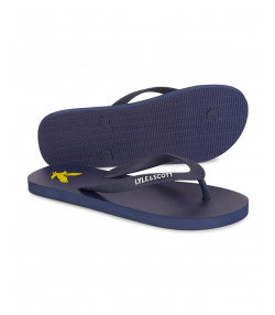 Lyle & Scott Men's Flip Flops Dark Navy | Jean Scene