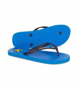 Lyle & Scott Men's Flip Flops Bright Royal Blue | Jean Scene