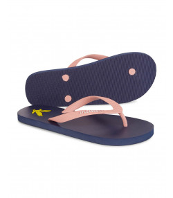 Lyle & Scott Men's Flip Flops Dark Navy/Coral | Jean Scene