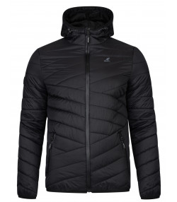 Kangol Winter Padded Jacket Black | Jean Scene