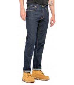 Lee Brooklyn Straight Stretch Jeans Rinse | Jean Scene